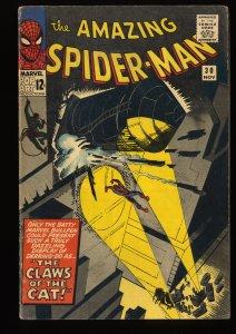 Amazing Spider-Man #30 VG/FN 5.0 1st Cat(Burglar)! Marvel Comics Spiderman