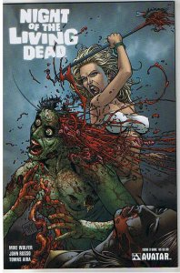 NIGHT of the LIVING DEAD #3, NM, Gore, Zombies,2010, undead,more NOTLD in store