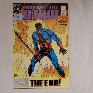 Power of the Atom 18 Very Fine/Near Mint Cover by Graham Nolan