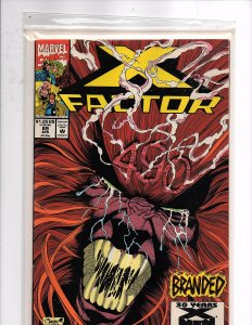 Marvel Comics X-Factor Vol. 1 #89 Peter David Story Joe Quesada Cover & Art