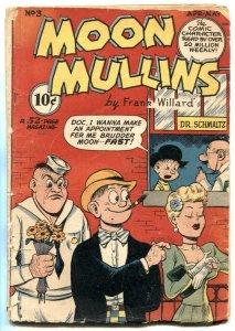 Moon Mullins #3 1948- Milt Gross- Frank Willard- incomplete