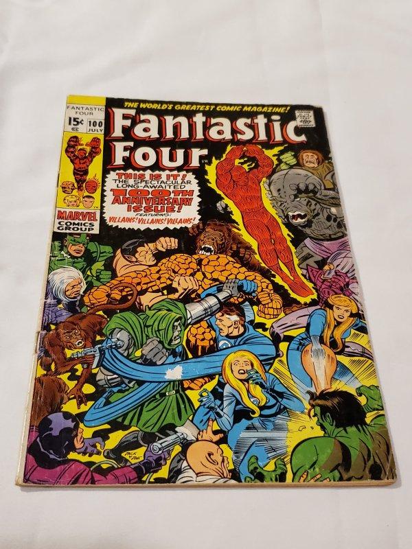 Fantastic Four 100 GD+