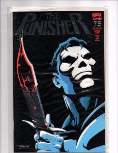 Marvel Comics (1987) The Punisher #75 Foil enhanced cover