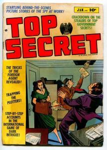 TOP SECRETS #1 1952-HILLMAN-VG