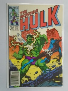 Incredible Hulk #295 News Stand edition 5.0 VG FN water damaged (1984 1st Series