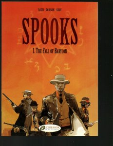 Spooks Vol. # 1 The Fall of Babylon Cinebook Comic Book TPB Graphic Novel J402