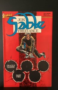 Jon Sable, Freelance #18 (1984)