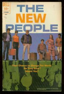 NEW PEOPLE #2 MAY 1970-DELL COMICS-TV PHOTO COVER-RARE FN