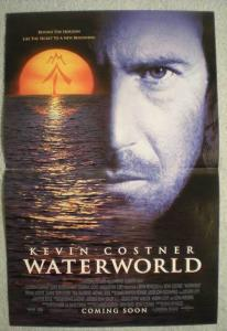 WATERWORLD Promo poster, Movie, 11x17, 1995, Unused, more Promos in store