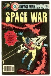 Space War #33 1979- DITKO COVER- Charlton VF