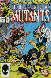 New Mutants, The #59 VF/NM; Marvel   save on shipping - details inside