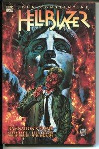 John Constantine Hellblazer: Damnation's Flame-Garth Ennis-1999-PB-VG/FN