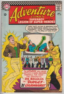 Adventure Comics #348 (Sep-66) VF+ High-Grade Legion of Super-Heroes, Superboy