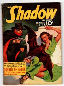 SHADOW 1941 Oct 1- STREET AND SMITH-Pulp Magazine