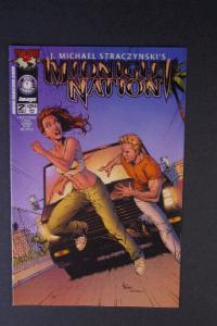 Midnight Nation #2 Nov 2000 1st Printing j. Michael Straczyn