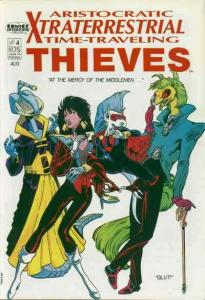 Aristocratic X-Traterrestrial Time-Traveling Thieves #4 FN; Comics Interview   s