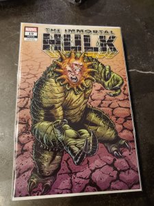 Immortal Hulk #19 Unknown Comics Exclusive Brent Schoonover Variant Cover