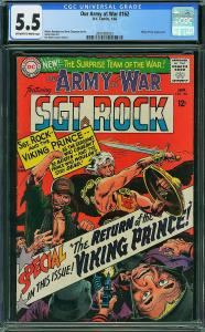 Our Army at War #162 (DC, 1966) CGC 5.5