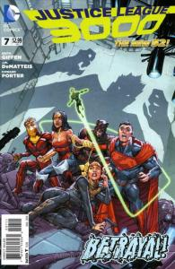 Justice League 3000 #7 VF/NM; DC | save on shipping - details inside