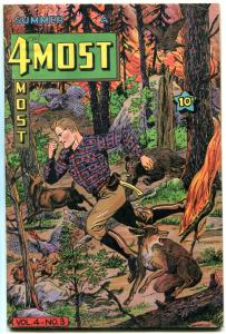 4Most Comics v.4 #4- Dick Cole- Golden Age FN-