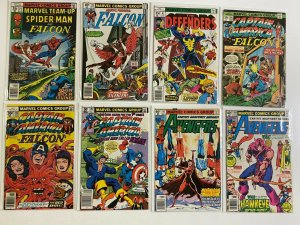 The Falcon appearances comic lot Marvel 36 pieces (Condition and Years Vary)