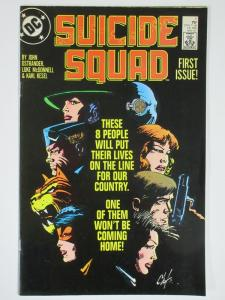 SUICIDE SQUAD 1 VF- May 1987