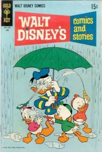Walt Disney's Comics and Stories #345, Good- (Stock photo)