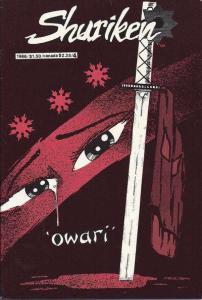 Shuriken (1985 series) #4, VF- (Stock photo)