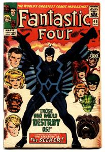 Fantastic Four #46 comic book 1st Black Bolt cover-MCU-Inhumans Movie