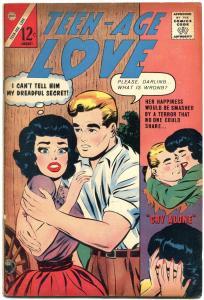 Teen-Age Love #33 1963- Charlton Silver Age Romance FN
