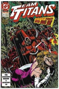 Team Titans #4 (1992) VF