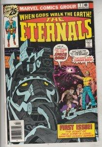 Eternals, The #1 (Jul-76) NM- High-Grade The Eternals, the Deviants