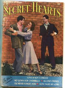 SECRET HEARTS #2 1949-DC ROMANCE-TOTH-KINSTLER FR