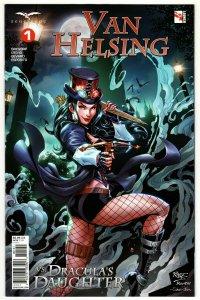 Van Helsing vs Draculas Daughter #1 Cvr D Royle (Zenescope, 2019) NM