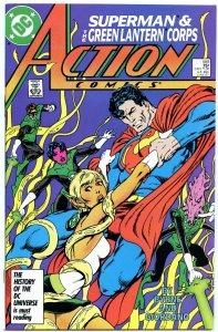 Action Comics 589 Jun 1987 NM- (9.2)