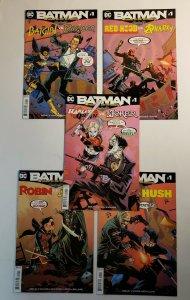 BATMAN PRELUDE TO THE WEDDING PART 1-5 COMPLETE SET DC COMICS 2018