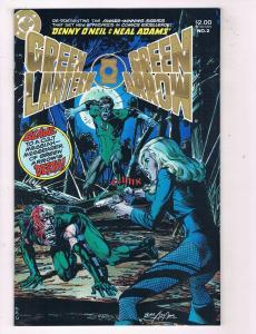 Green Lantern/Green Arrow #2 VF DC Comics Comic Book O Neil JLA 1983 DE43 TW14