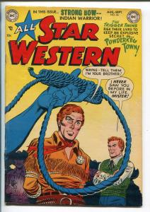 ALL STAR WESTERN #66 1952-DC-TRIGGER TWINS-STRONG BOW-fn