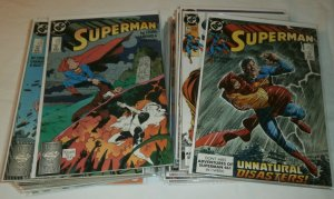 Superman #23-50 100% complete set Stern/Gammill/Ordway, Lex Luthor, Newsboy