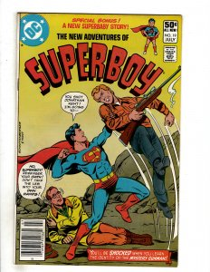 The New Adventures of Superboy #19 (1981) DC Comic Superman OF8