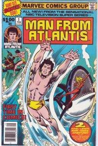 Man from Atlantis #1 (1978)