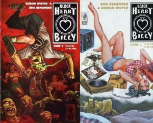 BLACK HEART BILLY  1-2  Recommended by SLINGS&ARROWS