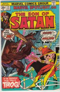 Marvel Spotlight on Son of Satan #23 (Aug-75) VF/NM High-Grade Son of Satan (...
