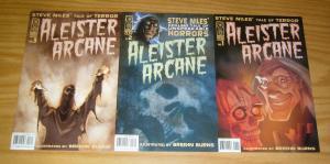 Aleister Arcane #1-3 VF/NM complete series - steve niles' tale of terror horror
