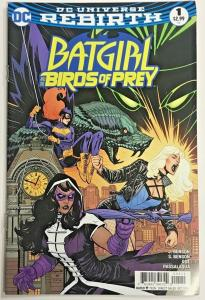 BATGIRL & THE BIRDS OF PREY#1 VF/NM 2016 DC UNIVERSE REBIRTH