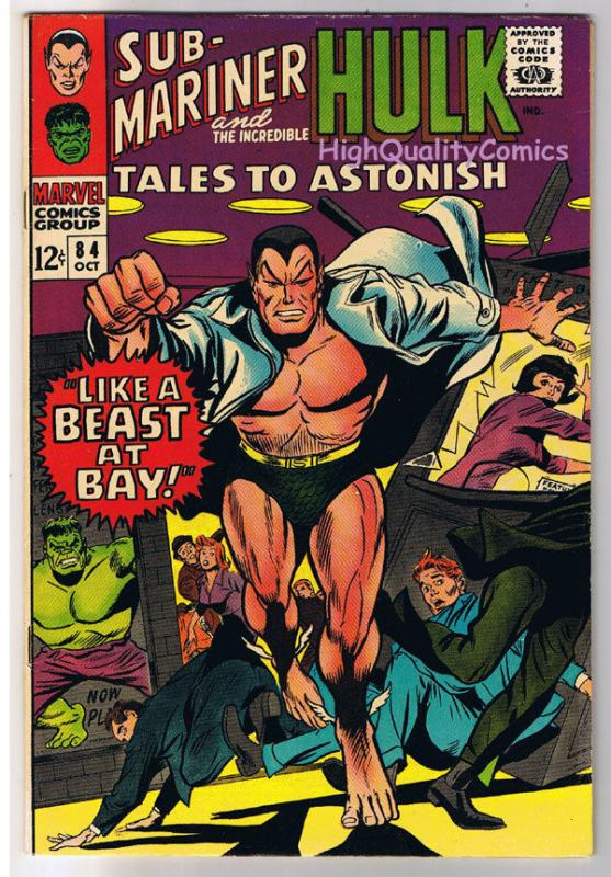 TALES to ASTONISH #84, VF, Hulk, Don Heck, Steve Ditko, 1959, more in store