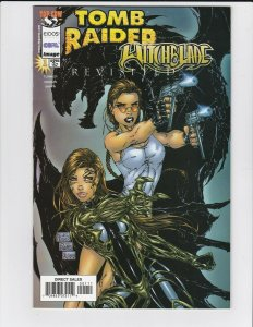 Tomb Raider/Witchblade Revisited #1 - Image - sexy superheroine - Near Mint