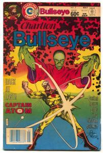 Charlton Bullseye #7 1982- Captain Atom- Nightshade FN