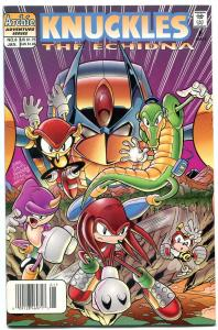 Knuckles #8 1998- Archie Comics- Sega- Echidna Sonic NM-