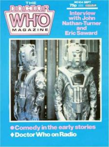 Doctor Who Magazine #104, VF+ (Stock photo)